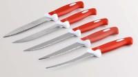 Jen Multipurpose 5 Red knife Stainless Steel Knife Set(Pack of 5)
