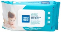 MeeMee Gentle Hand and Mouth Baby Wipes (72 Sheets)