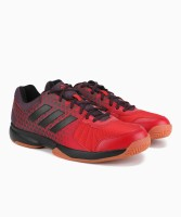 ADIDAS NET NUTS INDOOR Badminton Shoes For Men(Red)