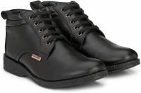 Provogue PRO-CAP-AW1016 Boots For Men(Black)