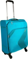 American Tourister Stanford Expandable Cabin Luggage - 22 inch(Blue)