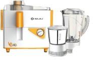 Bajaj Neo JX4 450 W Juicer Mixer Grinder(White, Orange, 2 Jars)