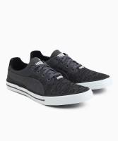 Puma Slyde Knit IDP Canvas Shoes For Men(Black)