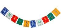 SEGGO Tibetan Buddhist Prayer Flag For Hero Splendor + Rectangle Outdoor Flag Flag(Cotton)
