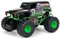 New Bright Monster Jam Grave Digger Radio Controlled Toy(Multicolor)