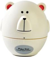 fesa Mechanical Kitchen Timer 60 Min -The Bear White Analog Kitchen Timer