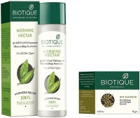 BIOTIQUE BIO Bio Morning Nectar 30+Spf Sunscreen Ultra Soothing Face Lotion, Bio Sea Weed Revitalizing Eye Gel(Set of 2) Flipkart Deal