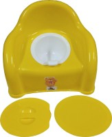 kidbee Baby Sumo Style Chair Cum Potty Seat(Yellow)