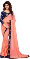 Shoppershopee Embellished Venkatagiri Chiffon Saree(Multicolor)