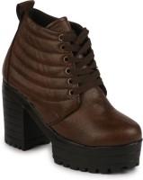 Kelemon Boots For Women(Brown)