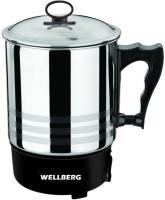 Wellberg Tea , Soup , Coffee & MULTI -MAKER Electric Kettle(1.3 L, Silver)