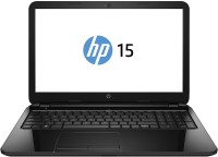 HP Notebook PC Celeron Dual Core - (4 GB/500 GB HDD/Windows 8.1) 15-f033wm Laptop(15.6 inch, Black, With MS Office)