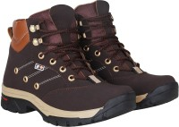Kraasa Climber Boots For Men(Brown)