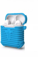 JPACC Pouch for APPLE AIRPODS(LIGHT BLUE, Shock Proof, Flexible Case)
