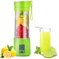 KRITAM USB Rechargeable Mini Portable Smoothie Blender Fruit Vegetable Electric 380ml 20 Juicer (Multicolor , 1 Jar) 2000 W Juicer Mixer Grinder(Multicolor, 1 Jar)
