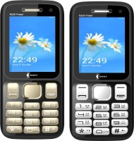 Ssky N230 Power Combo of Two Mobiles(Gold&Black, Black&Silver)