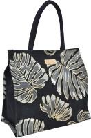 ECOTARA Flora Design Multipurpose Bag(Black, 3 L)