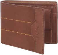 Spairow Men Brown Genuine Leather Wallet(7 Card Slots)