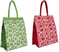 ECOTARA Golden Glaze Designer Super Saver Classic Printed Multipurpose Premium Quality Eco Friendly Everyday Useful Travel Bag, Office Bag, Lunch Bag, Hand Bag, Gift Bag With Closing Zipper Natural Jute Bag For Mens & Womens (11.5