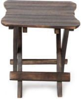 Sublime Arts Solid Wood Cafeteria Table(Finish Color - Antique Brown)