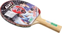 GKI Kung Fu Table Tennis Racquet By One Shot Retail Multicolor Table Tennis Racquet(Pack of: 1, 400 g)