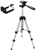 JMO27Deals Tripod-3110 40.2 Inch Portable Camera Tripod With Three-Dimensional Head & Quick Release Plate Tripod Tripod(Black, Supports Up to 2000 g)