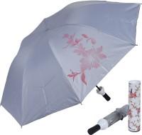STYLE HOMEZ Fashionable Wine Bottle White Cover 110 cm Travel Umbrella Umbrella(White)