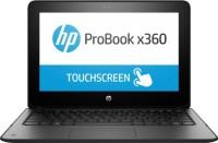 HP ProBook x360 11 G1 EE Notebook PC Celeron Dual Core - (4 GB/128 GB SSD/Windows 10 Pro) 1FY91UT 2 in 1 Laptop(11.6 inch, Black, 1.44 kg, With MS Office)   Laptop  (HP)
