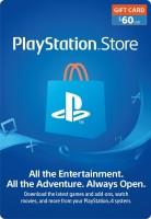 $60 USD PSN Card for PS4, PS3, PS Vita( )