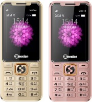 Snexian M6044 Combo of Two Mobiles(Gold&Rose Gold)