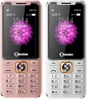 Snexian M6044 Combo of Two Mobiles(Rose Gold&Silver)