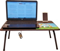CSM Laptop Tables Engineered Wood Portable Laptop Table(Finish Color - Wenge)