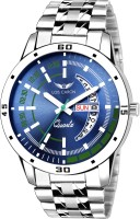 Lois Caron LCS-8075 BLUE DIAL DAY & DATE FUNCTIONING Analog Watch  - For Men