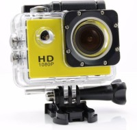 bagatelle sports no one Camera 1080 P Go Pro Style Sports and Action Camera (Black 12 MP) 12 Sports & Action Camera(Black)