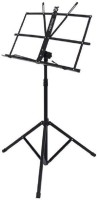 SYGA Folding Music Stand with Carry Bag (Black) Music Stand(Black)