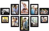 Painting Matra Generic Photo Frame(Black, 10 Photos)