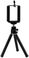 eDUST Premium Quality Extendable Metal Mini Tripod Tripod(Black, Supports Up to 1200 g)