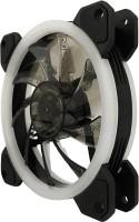 BBC RAINBOW FAN 120 MM 3 PECS Cooler(BLACK COLOR FAN WITH MULTI LED LIGHT)
