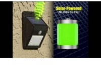 Bold & Beautiful Ever Brite Light - Solar Powered Cordless Outdoor Led Motion Sensor Path & Security Light 180-1 Lantern Emergency Light(Multicolor)