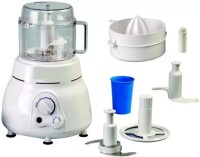 Grizzly Best Quality 3 in 1 Atta Kneader & Chopper & Whipper 650 W Food Processor(Multicolor)