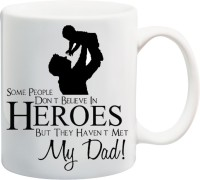 ME&YOU World's Best Dad, Gift for Father,Dad,Papa,Father's Day, Birthday Gift Ceramic Mug(350 ml)