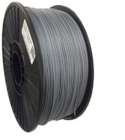 Global3DHub.Com SILVER GRAY RIGID GLOSSY pla filament Printer Filament(Silver)