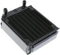 TECHNOLOGYBAZAR 80mm pc water cooling Aluminium radiator for computer Chip CPU GPU VGA RAM Cooler(Black)