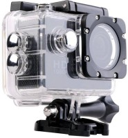 Cp Bigbasket Action Shot ™Full HD 12MP 1080P Black Helmet Waterproof Sports and Action Camera(Black)