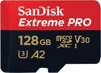 SanDisk EXTREME PRO A2 128 GB MicroSDXC Class 10 170 MB/s  Memory Card