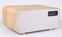 NinosGiochi WoodBox18 Home Wooden Bluetooth Speaker System - Light Oak 60 W Bluetooth Home Theatre(Light Oak, 2.1 Channel)