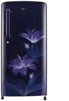 LG 215 L Direct Cool Single Door 4 Star Refrigerator(Blue Glow, GL-B221ABGX)