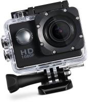 PIQANCY Sport Action Camera HD 1080p 12mp Waterproof Action Camera best quality Sports and Action Camera(Black, 12 MP)