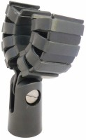 MX Microphone Holder with Better Grip Anti Shock For Microphones Mic Holder(Black)