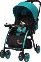 R for Rabbit Poppins (an Ideal Pram) Baby Stroller for Baby/Kids and Moms (Green Black) Stroller(Multi, Green)
